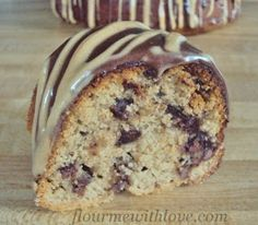 Flour Me With Love: Peanut Butter & Chocolate Chip Bundt Cake