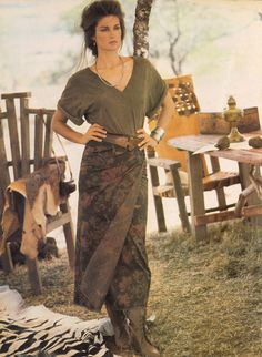 Clotilde~Ralph Lauren model /muse in the 80s