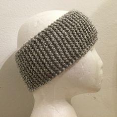 Pannebånd reflexgarn. Knit Crochet, Crochet Hats, Headbands, Crocheting, Beanie, Knitting, Big, Shop, Design