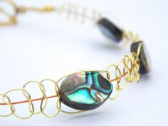 Abalone Shell Bracelet FREE UK DELIVERY by PhillipaJaneDesigns