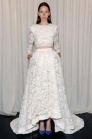 2 piece wedding dress crop top - Google Search