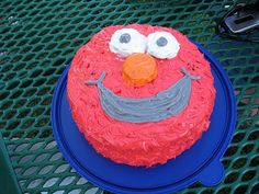 elmo cake Elmo Cake, Baking, Desserts, Kids, Food, Tailgate Desserts, Young Children, Deserts, Boys