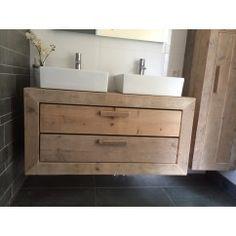 Badkamermeubel van steigerhout Utrecht