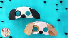 Easy Dog Mask DIY Year of the Dog Crafts for Kids Paper Plate Masks