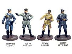 Metal Figure Set It is made by Franklin Mint and is 1:35 scale (approx. 5cm / 2.0in high). ...