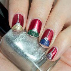 Textured Ornament Nail Art - The Nail Network