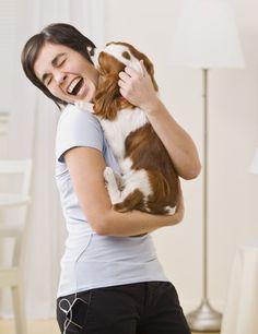 Puppy kisses always make me happy! #puppiesmakehappy