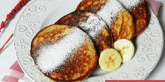Owsiane placuszki bananowe – 3 składnikowe