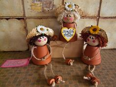 wooden spool dolls | Orchard Country Crafts | created at www.mrsite.com