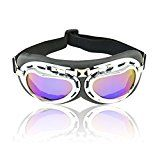 Review for Vintage Motorcycle Goggles,  Anti-UV Adjustable Motorcycle Glasses Motocross Pil... - Amanda Bennett  - Blog Booster