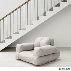 @Overstock.com - Fresh Futon Hippo Convertible Futon Chair / Bed - Add a funky edge to your decor with this convertible futon chair. In an instant, this cozy armchair unfolds and transforms into a firm single mattress. The twill fabric is soft, durable, and easy to care for and is great for kids or adults.  http://www.overstock.com/Home-Garden/Fresh-Futon-Hippo-Convertible-Futon-Chair-Bed/8084021/product.html?CID=214117 $154.99