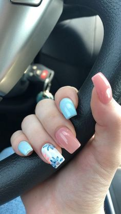 94 spring nail designs that will make you excited for spring page 43 | myblogika.com