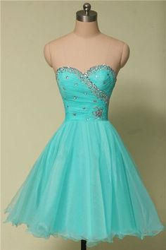 Cute Homecoming Dress,Tulle Homecoming Dress,Beading Graduation Dress,Sweetheart Short Prom Dress Hd073
