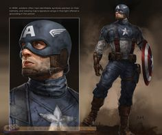 captain america marvel now suit - Google Search