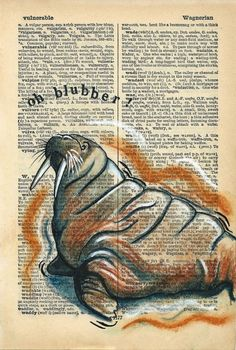 Wobble : Rhian Wyn Harrison Old Book Art, Old Books, Music Page, Dictionary Art, Art Music, Art Journals, Pet Birds, Seaside, Journaling