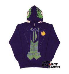 Joker Tuxedo costume hoodie