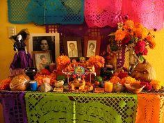 imagenes del dia de muertos ofrendas - IMG MLP