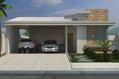 Plano de casa con aparente techo