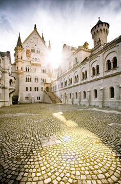 Schloss Neuschwanstein, Bayern-Deutschland
