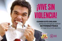 SI TE ENOJAR, REALIZA ACTIVIDAD FÍSICA #QuieroVivirSano #SaludSocial #ViveSinViolencia