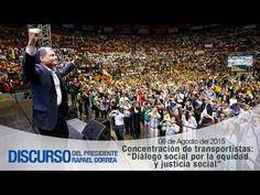 """Concentración de transportistas: """"Diálogo social por la equidad y justic..."""