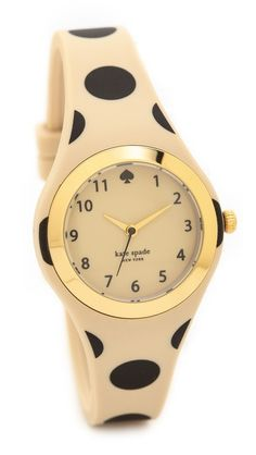 polka dot Kate Spade watch 25% off with code: FAMILY25 http://rstyle.me/n/rcjgzr9te