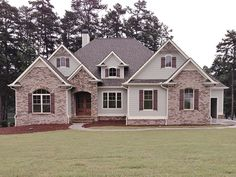 New American Home Plan with 3907 Square Feet and 4 Bedrooms from Dream Home Source | House Plan Code DHSW077333