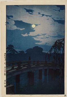 Hirakawa Bridge, 1929, Yoshida Hiroshi
