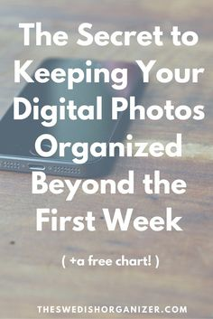 The Secret to Keeping Your Digital Photos Organized! | Want to regain control over you digital photos? A good workflow will be your new best friend! Click through to read how to set it up! >>>