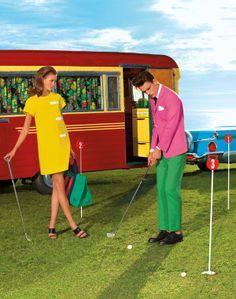 vintage indoor mini golf - Google Search