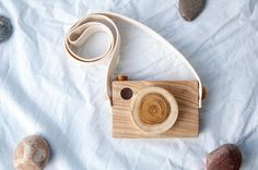 Wooden Toy Camera Pretend play camera toy Toddler Toy