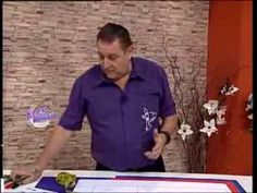 Hermenegildo Zampar - Bienvenidas TV - Explica el Molde base para Telas ...