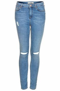 If you're not really into distressed denim try these Topshop jeans! Subtle but they still give you slight 90's grunge effect! Under $100
