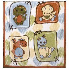 CoCaLo Soft and Cozy Blanket Dinos at Play Dinosaur Crib Bedding, Dinosaur Fabric, Baby Crib Bedding, Baby Nursery Diy, Nursery Room Decor, Nursery Ideas, Baby Room, Fuzzy Blanket, Baby Dino