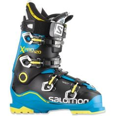 Stiff boots with a heat-moldable shell to precisely fit the feet of advanced skiers, the Salomon X Pro 120 ski boots are ready to take on the steepest terrain with a highly sensitive feel. Ski Boots, Hiking Boots, Ski Magazine, Ski Helmets, Bridal Registry, Mens Skis, Ski Gear, Ski Goggles, Ski And Snowboard