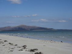 - East Beach with view over Sound of Harris.