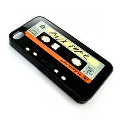 vintage cassette tape antique apple iphone 4 4s case, $14.50 USD