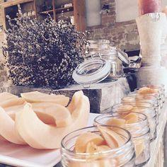 Morning sweets at La Saracina... #goodmorning #lasaracina