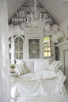 i dream in white................
