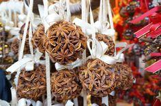 hand made craft chrismas ornament Schonbrunn Palace Christmas Market in Vienna.