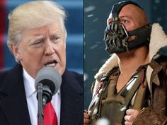 At least, we're assuming it was accidental. A line in Donald Trump's inauguration speech perfectly echoed a Batman supervillain. The 45th U.S. president pledged that power is now being …