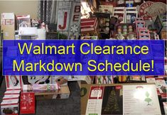 LEAKED! – Walmart Clearance Markdown Schedule! Best Money Saving Tips, Ways To Save Money, Saving Money, Money Tips, Dollar General Penny Items, Rebate Apps, Track Spending, Walmart Clearance, Retail Arbitrage
