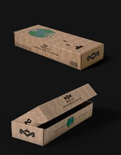 Marley headphone packaging on Behance
