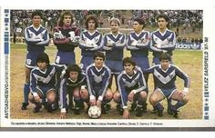 1987 Velez Sarsfield Football Team, Adidas, Baseball Cards, Retro, The World, Club America, Athlete, Bicycles, Sports