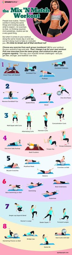 If you need a little help changing up your fitness routine, this workout is for you!