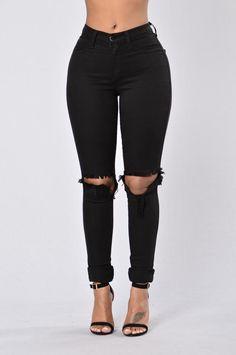 Clean Break Jeans - Black