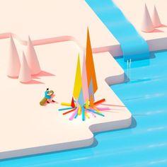 illustration frederic peault feu de camp.jpg - Frédéric PEAULT | Virginie