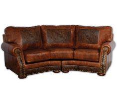Cameron Ranch Curved Sofa