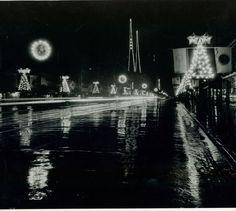 1933 Christmas on Hollywood Blvd.