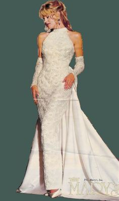 1000 images about 80 39 s 90 39 s wedding dresses on for Pc mary s wedding dress